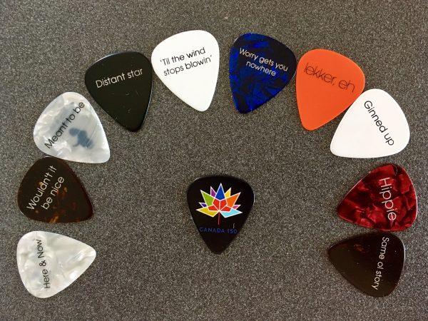 Inspiring Guitar Picks